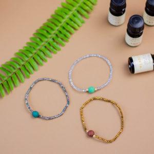 pulsera de aromaterapia